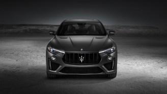 Maserati's Levante Trofeo SUV Runs On A Twin-Turbo Ferrari V8 And A Top Speed Near 190 MPH