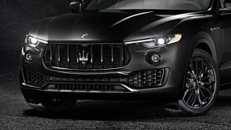Maserati Just Debuted Three Jaw-Dropping 'Nerissimo Edition' Cars At The Geneva Motor Show