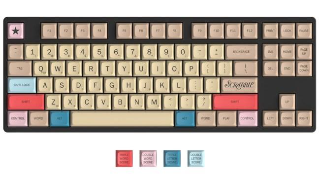 massdrop scrabble keyboard