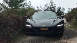 Some Dude Took Their $285,000 McLaren 720S Off-Roading And It Didn't Go Over Well