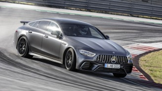 Mercedes Just Unveiled A Wicked New AMG GT 4-Door Coupe That Can Hit A Top Speed Of 195 MPH