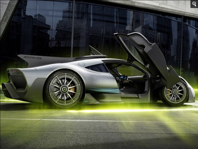 Mercedes-AMG Project ONE hypercar specs