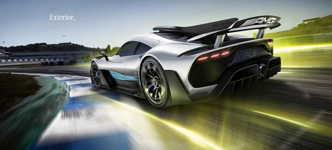 Mercedes-AMG Project ONE hypercar specs exteror