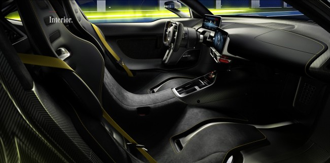 Mercedes-AMG Project ONE hypercar specs interior