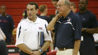 Jim Boeheim Claims He'd Dominate Mike Krzyzewski If They Had A Shooting Contest
