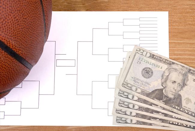 ncaa basketball bracket betting money