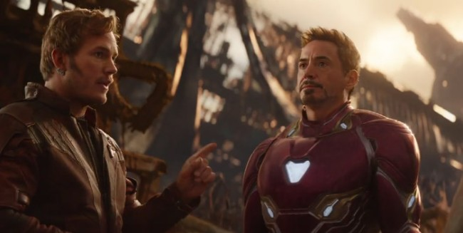 new avengers infinity war trailer