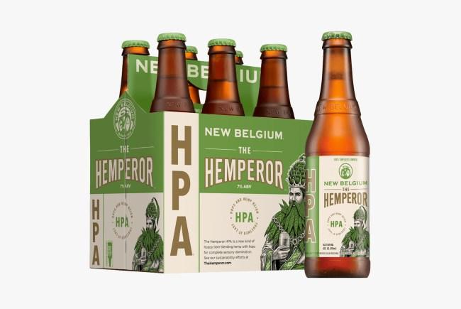 New Belgium Hemperor beer