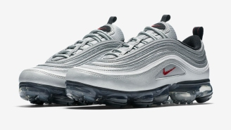 Get Your First Official Sneak Peek At The Nike Air VaporMax 97 'Silver Bullet'