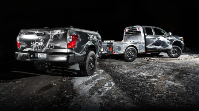 Nissan Smokin Titan BBQ Truck
