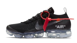 Official Images Of The Black OFF-WHITE x Nike Air VaporMax Have Been Released And They Are FIRE