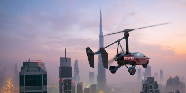 pal-v liberty pioneer flying car photos