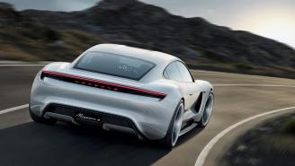 The Porsche Mission E Electric Car Is A Lightning Fast Sedan Taking On Tesla's Model S