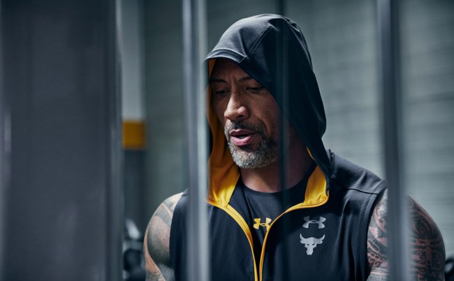 Project Rock Under Armour Collection New Build Belief