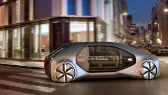 Renault's New EZ-GO Robo-Vehicle Wants To Be The Ride-Sharing Taxi Of The Future