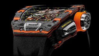 McLaren And Luxury Swiss Watchmaker Richard Mille Collaborate On $190,000 Carbon Fiber Watch