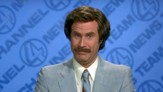 Ron Burgundy Previewed The MLS Opener For The New Los Angeles FC, Should Work All Soccer Games