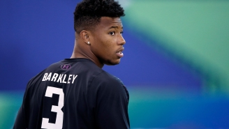 Devin Hester And Julio Jones Do Not Take Too Kindly To Being Compared Athletically To Saquon Barkley