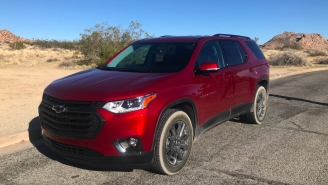 Why The Chevy Traverse RS Is The Ultimate Mid-Size Crossover For Friend-Group Adventures