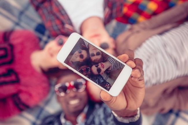 selfies big nose effect