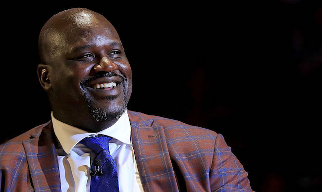Shaquille O'Neal retirement ceremony
