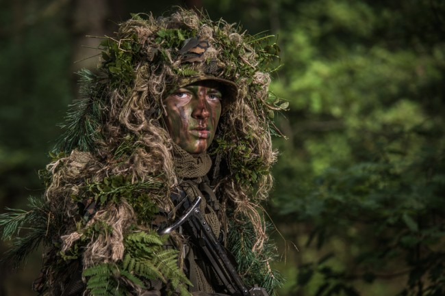 ghillie suit military