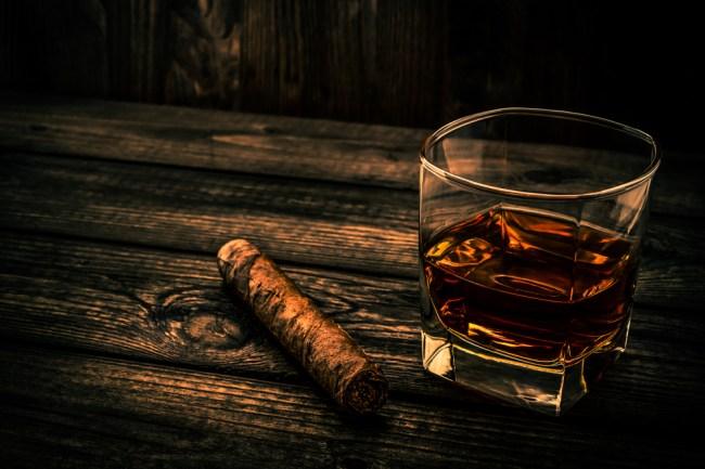bourbon whisky scotch cigars