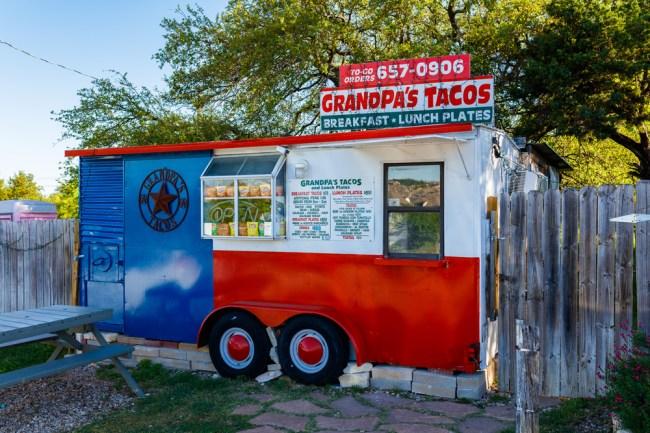 breakfast taco truck