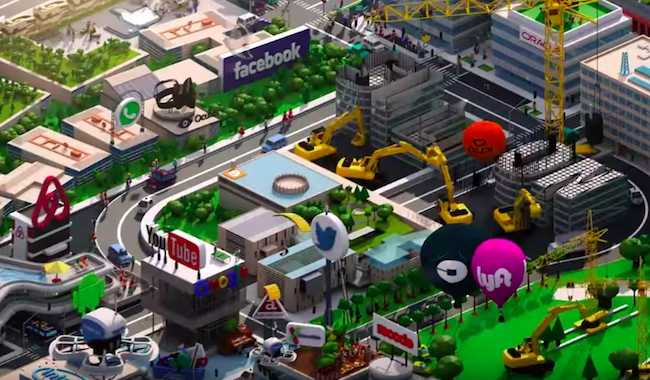 silicon valley opening credits sequence