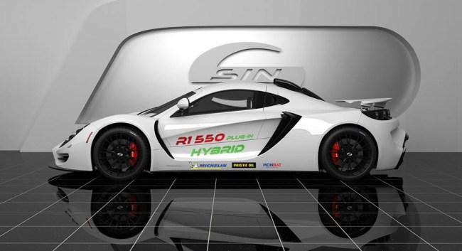 SIN R1 550 Hybrid Specs Pics