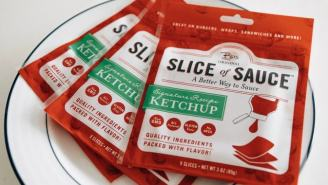 We Now Live In A World With Ketchup Slices And The Internet Is Shook