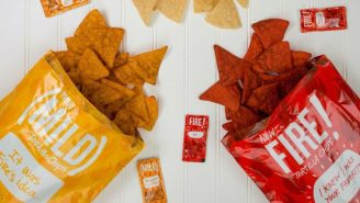 Move Over Doritos, Taco Bell Is Selling Their Own Line Of Hot Sauce-Flavored Tortilla Chips