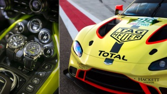 TAG Heuer And Aston Martin Teamed Up To Create Two Magnificent New Racing-Inspired Watches
