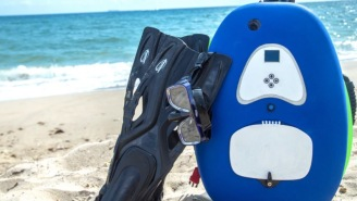 The Nomad Diving System Is A Portable, Lightweight Diving Setup That Doesn't Require Being Certified