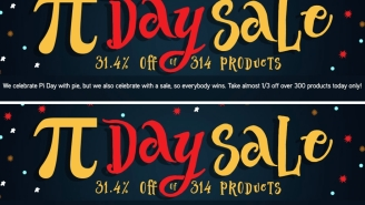 Nerd Out With Our Favorite Deals Of ThinkGeek's Pi Day Sale