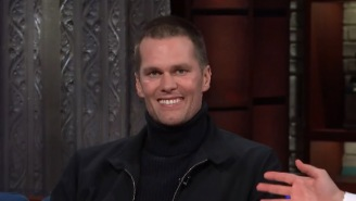 Tom Brady Is Challenged To A Drinking Contest And Chugs A Full Beer In One Gulp
