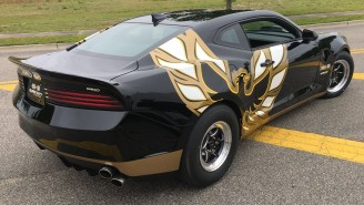 This 1,100 HP Trans Am 455 Super Duty Might Be The Most Badass Car At The New York Auto Show