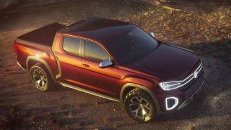 Volkswagen Flaunts Beautiful Atlas Tanoak Pickup Truck Concept But Don't Get Too Excited