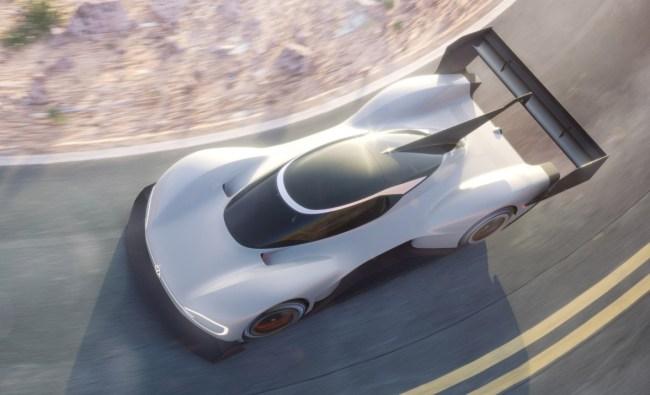 Volkswagen IDR Pikes Peak Electric Car Prototype