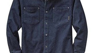 This Men's Denim Shirt Is Only $25 Right Now