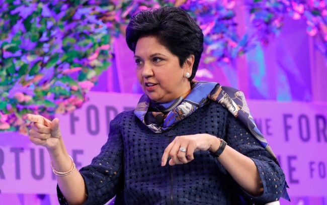 100 Highest Paid CEOs Largest Companies Indra Nooyi