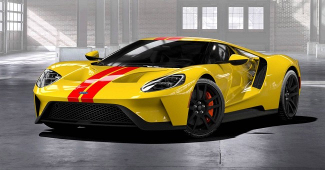 2018 Ford GT Heritage Edition Configurator