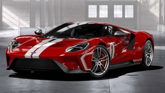 When John Hennessey Takes Delivery Of A 2018 Ford GT Heritage Edition Supercar It's An Event