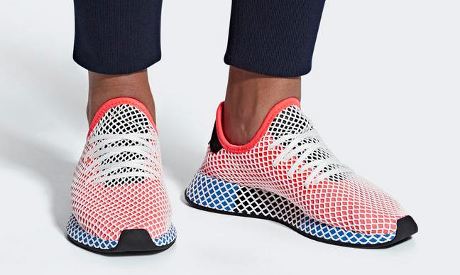 adidas originals deerupt running shoes