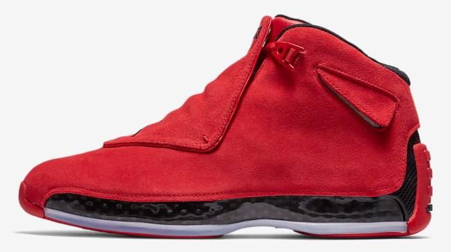 Air Jordan 18 Gym Red