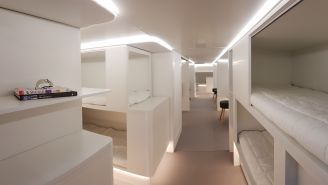 Airbus Wants To Put Cozy Beds In The Cargo Holds Of Planes To Make Long Flights Less Miserable