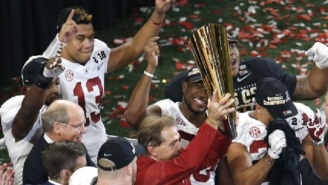 Alabama Players Are Trolling UCF On Twitter After Receiving Their National Championship Rings