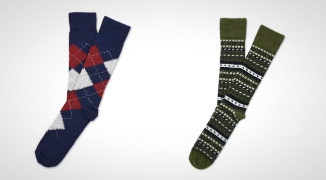 American Trench Merino Wool Cashmere Socks