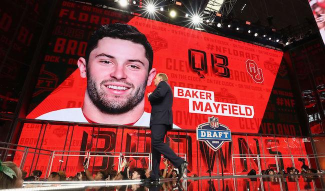 baker mayfield nfl draft