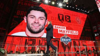 Baker Mayfield's Friend Prank Called Him Just Before The First Pick In The Draft Was Announced